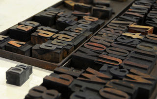 Woodblock type