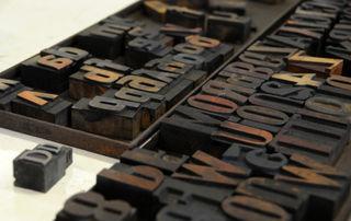 Woodblock type