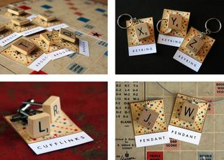 Scrabble pieces_4set