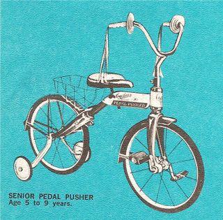 Senior Pedal Pusher