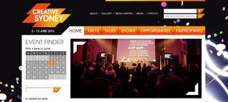Creative Sydney website