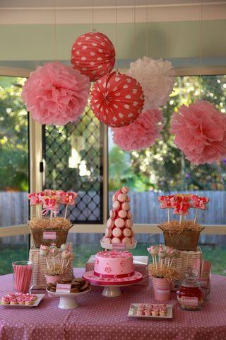 Fairy high tea party