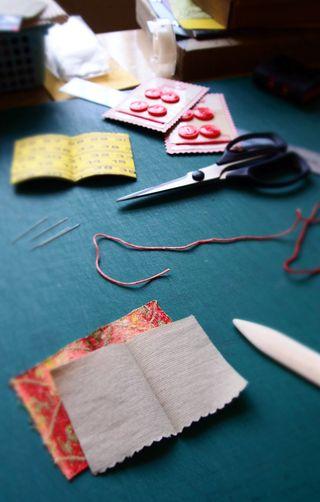 Needle book process