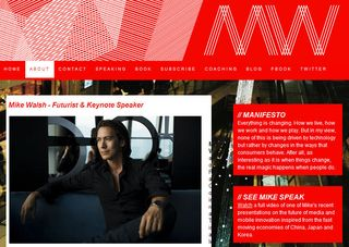 Mike Walsh website