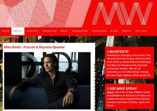 Mike Walsh website