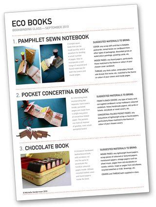 Eco Books details&pics sheet