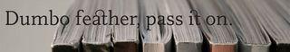 Dumbo Feather header