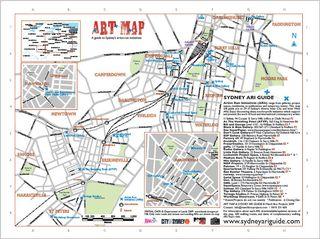 Sydney ARI map 2009