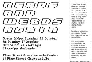 Nerds&Werds flyer