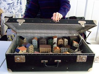 Suitcase town