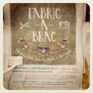 Fabric a brac poster