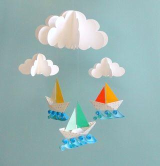 Papercraft boats