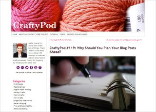 CraftyPod blog