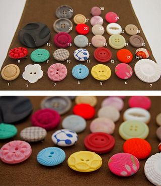 Vintage button brooches_extras_identified