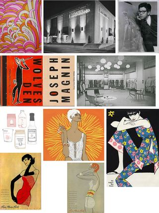 60s illustration & packaging & dept stores