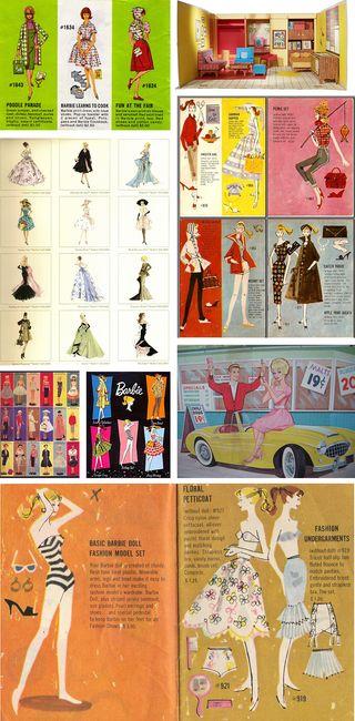 Vintage Barbie montage