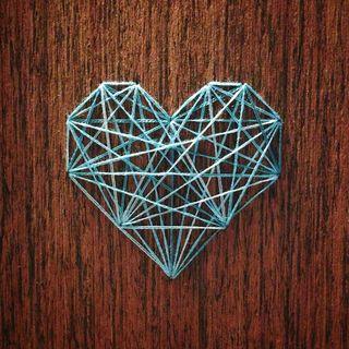 Blue heart2