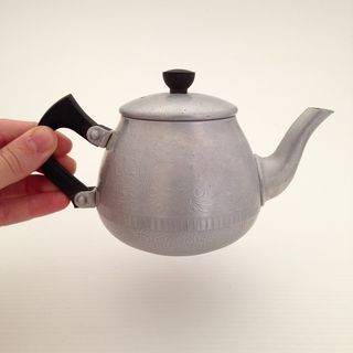 Aluminium teapot_unfiltered