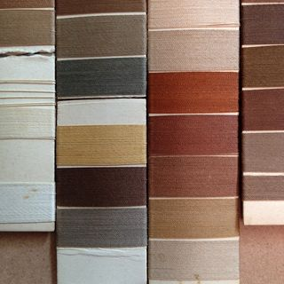Silk threads_ browns_macro