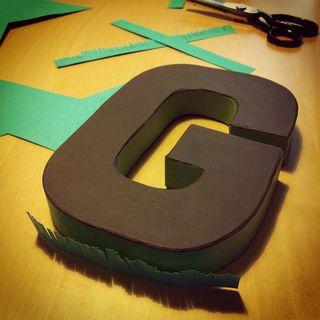 Letter G_Michelle_green fringeing