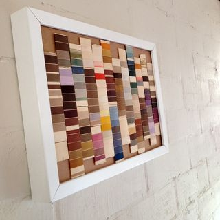 Silk threads_ finished+framed_angle