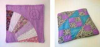 LetterQ_Susan_mauve quilt