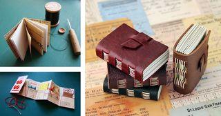 Pamphlet + pocket concertina + chocolate books_sml