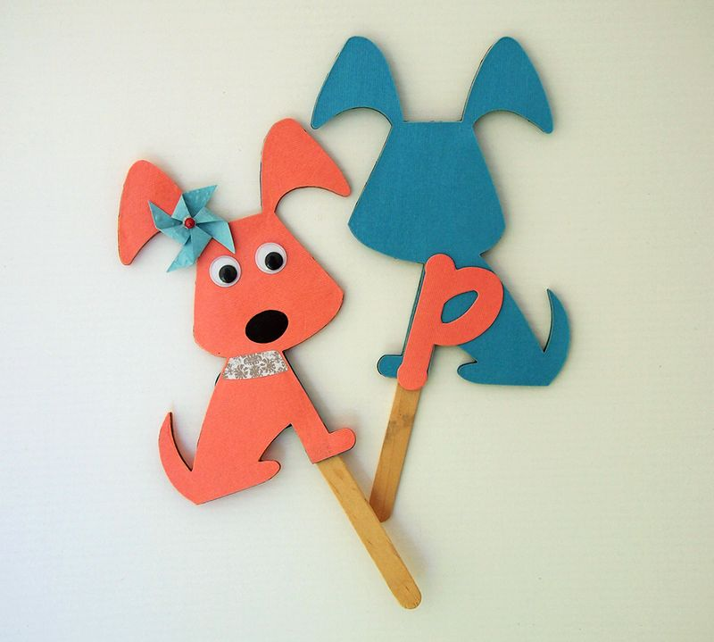 LetterP_Shannon_puppy puppets