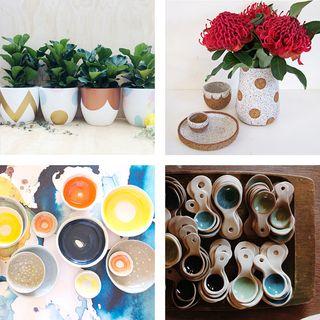 Ceramics selection