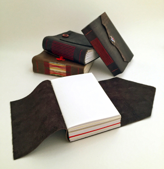 Wrap around longstitch journals_open