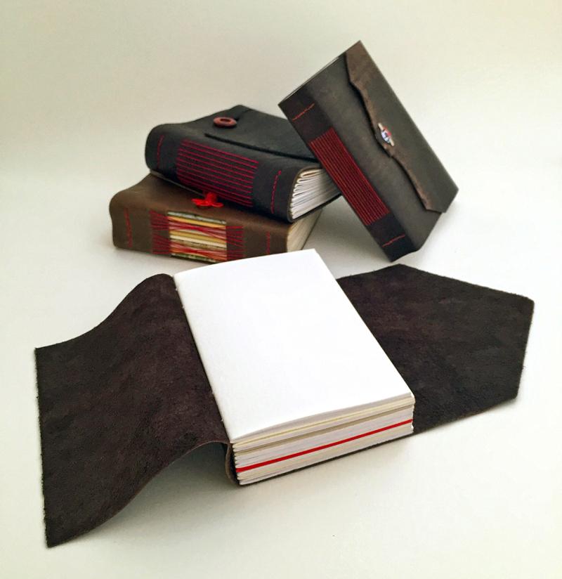 Wrap around longstitch journals_open