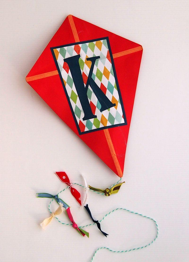 LetterK_Michelle_on white_above kite