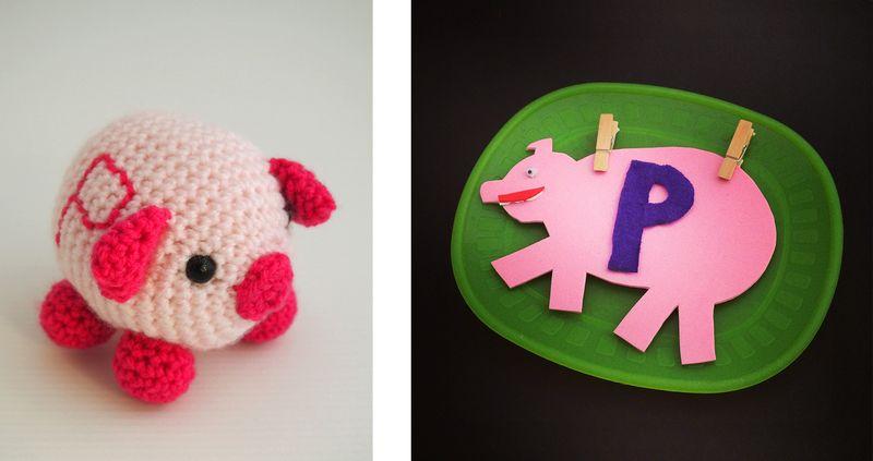 LetterP_Sarah+Susan_pigs