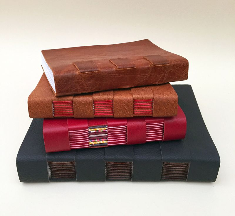 Cross structure book stack