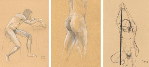 Life drawing_8 November 2006