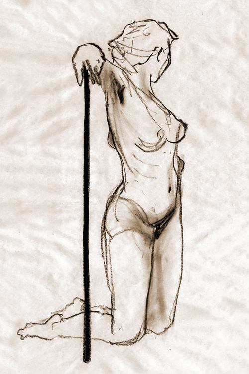 Nude with stick_2002