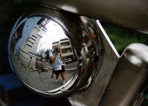 Self-portrait in Tokyo_1998